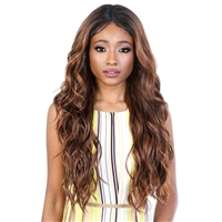 Glamourtress, wigs, weaves, braids, half wigs, full cap, hair, lace front, hair extension, nicki minaj style, Brazilian hair, crochet, hairdo, wig tape, remy hair, Lace Front Wigs, Motown Tress Synthetic HD Invisible 13X6 Lace Wig - L136.HD06