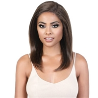 Glamourtress, wigs, weaves, braids, half wigs, full cap, hair, lace front, hair extension, nicki minaj style, Brazilian hair, crochet, hairdo, wig tape, remy hair, Lace Front Wigs, Motown Tress Synthetic HD Invisible 13X5 Lace Wig - KLP JOEL