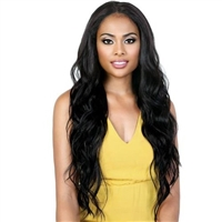 Glamourtress, wigs, weaves, braids, half wigs, full cap, hair, lace front, hair extension, nicki minaj style, Brazilian hair, crochet, hairdo, wig tape, remy hair, Lace Front Wigs, Motown Tress Synthetic HD Invisible 13X5 Lace Wig - KLP LYNX