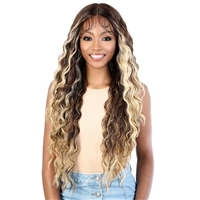 Glamourtress, wigs, weaves, braids, half wigs, full cap, hair, lace front, hair extension, nicki minaj style, Brazilian hair, crochet, hairdo, wig tape, remy hair, Lace Front Wigs, Motown Tress Synthetic Hair HD Invisible 13X7 Lace Wig - LS137 SAMI