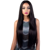 Glamourtress, wigs, weaves, braids, half wigs, full cap, hair, lace front, hair extension, nicki minaj style, Brazilian hair, crochet, hairdo, wig tape, remy hair, Lace Front Wigs, Motown Tress Persian Virgin Remy Silk Swiss Lace Wig - HPSLK.SENS
