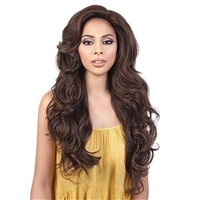 Glamourtress, wigs, weaves, braids, half wigs, full cap, hair, lace front, hair extension, nicki minaj style, Brazilian hair, crochet, hairdo, wig tape, remy hair, Lace Front Wigs, Motown Tress Synthetic Super Glam Lets Lace Wig VENUS