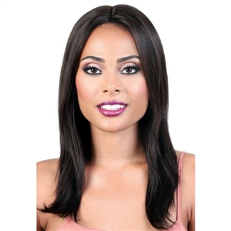Glamourtress, wigs, weaves, braids, half wigs, full cap, hair, lace front, hair extension, nicki minaj style, Brazilian hair, crochet, hairdo, wig tape, remy hair, Lace Front Wigs, Motown Tress 100% Persian Human Hair Spin Part Lace - HPL SPIN30