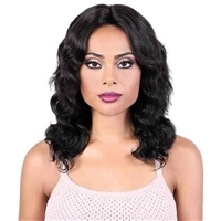 Glamourtress, wigs, weaves, braids, half wigs, full cap, hair, lace front, hair extension, nicki minaj style, Brazilian hair, crochet, hairdo, wig tape, remy hair, Lace Front Wigs, Motown Tress 100% Persian Human Hair Spin Part Lace - HPL SPIN50