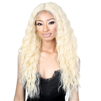 Glamourtress, wigs, weaves, braids, half wigs, full cap, hair, lace front, hair extension, nicki minaj style, Brazilian hair, crochet, hairdo, wig tape, remy hair, Lace Front Wigs, Motown Tress Seduction Synthetic Lace Deep Part Wig - LP.MINDY