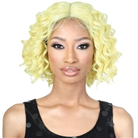 Glamourtress, wigs, weaves, braids, half wigs, full cap, hair, lace front, hair extension, nicki minaj style, Brazilian hair, crochet, hairdo, wig tape, remy hair, Lace Front Wigs, Motown Tress Seduction Synthetic Lace Deep Part Wig - LP.NISHA