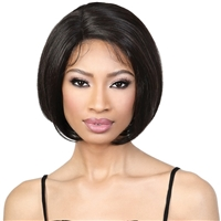 "Glamourtress, wigs, weaves, braids, half wigs, full cap, hair, lace front, hair extension, nicki minaj style, Brazilian hair, crochet, hairdo, wig tape, remy hair, Lace Front Wigs, Motown Tress Seduction 100% Virgin Hair 5"" Part Lace Wig - RLP.ST10"