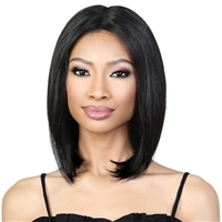 "Glamourtress, wigs, weaves, braids, half wigs, full cap, hair, lace front, hair extension, nicki minaj style, Brazilian hair, crochet, hairdo, wig tape, remy hair, Lace Front Wigs, Motown Tress Seduction 100% Virgin Hair 5"" Part Lace Wig - RLP.ST14"