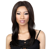 "Glamourtress, wigs, weaves, braids, half wigs, full cap, hair, lace front, hair extension, nicki minaj style, Brazilian hair, crochet, hairdo, wig tape, remy hair, Lace Front Wigs, Motown Tress Seduction 100% Virgin Hair 5"" Part Lace Wig - RLP.ST20"