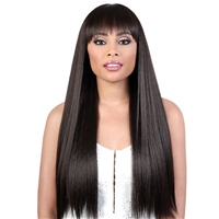 Glamourtress, wigs, weaves, braids, half wigs, full cap, hair, lace front, hair extension, nicki minaj style, Brazilian hair, crochet, hairdo, wig tape, remy hair, Lace Front Wigs, Motown Tress Synthetic Curlable Wig - JULIET 26