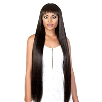Glamourtress, wigs, weaves, braids, half wigs, full cap, hair, lace front, hair extension, nicki minaj style, Brazilian hair, crochet, hairdo, wig tape, remy hair, Lace Front Wigs, Motown Tress Synthetic Curlable Wig - JULIET 40