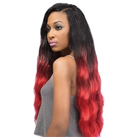 "Glamourtress, wigs, weaves, braids, half wigs, full cap, hair, lace front, hair extension, nicki minaj style, Brazilian hair, crochet, hairdo, wig tape, remy hair, Lace Front Wigs, Outre Batik Bundle Hair Braid Tahitian 24"" - Final Sale"
