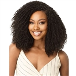 Glamourtress, wigs, weaves, braids, half wigs, full cap, hair, lace front, hair extension, nicki minaj style, Brazilian hair, crochet, hairdo, Outre Big Beautiful Hair Clip-In 9 - 4C-Coily Fro 10""