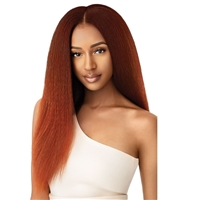 Glamourtress, wigs, weaves, braids, half wigs, full cap, hair, lace front, hair extension, nicki minaj style, Brazilian hair, crochet, hairdo, Outre Big Beautiful Hair Clip-In 9 Pcs - Kinky Straight 18