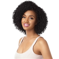 Glamourtress, wigs, weaves, braids, half wigs, full cap, hair, lace front, hair extension, nicki minaj style, Brazilian hair, crochet, hairdo, wig tape, remy hair, Lace Front Wigs, Remy Hair, Outre Synthetic Big Beautiful Hair Half Wig - 3C Tigress Tendri