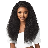 Glamourtress, wigs, weaves, braids, half wigs, full cap, hair, lace front, hair extension, nicki minaj style, Brazilian hair, crochet, hairdo, wig tape, remy hair, Outre Pre-Braided Synthetic 13X2 HD Lace Front Wig - HALO STITCH BRAID 26