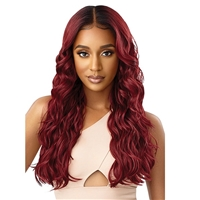 Glamourtress, wigs, weaves, braids, half wigs, full cap, hair, lace front, hair extension, nicki minaj style, Brazilian hair, crochet, hairdo, wig tape, remy hair, Lace Front Wigs, Outre Perfect Hairline 13X6 Synthetic Lace Wig - ANNALISE