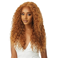 Glamourtress, wigs, weaves, braids, half wigs, full cap, hair, lace front, hair extension, nicki minaj style, Brazilian hair, crochet, hairdo, wig tape, remy hair, Lace Front Wigs, Outre Perfect Hairline 13X6 Synthetic Lace Wig - ARIELLA