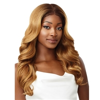 Glamourtress, wigs, weaves, braids, half wigs, full cap, hair, lace front, hair extension, nicki minaj style, Brazilian hair, crochet, hairdo, wig tape, remy hair, Lace Front Wigs, Outre Perfect Hairline 13X6 Synthetic Lace Wig - EVONA