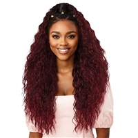 Glamourtress, wigs, weaves, braids, half wigs, full cap, hair, lace front, hair extension, nicki minaj style, Brazilian hair, crochet, hairdo, wig tape, remy hair, Lace Front Wigs, Outre Premium Synthetic Converti Cap + Wrap Pony Wig - YOUNG & WILD