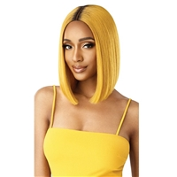 Glamourtress, wigs, weaves, braids, half wigs, full cap, hair, lace front, hair extension, nicki minaj style, Brazilian hair, remy hair, Lace Front Wigs, Outre The Daily Wig Synthetic Hair Lace Part Wig - LUNA