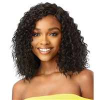 Glamourtress, wigs, weaves, braids, half wigs, full cap, hair, lace front, hair extension, nicki minaj style, Brazilian hair, remy hair, Lace Front Wigs, Outre The Daily Wig Synthetic Wet & Wavy Style Lace Part Wig - HOUSTON