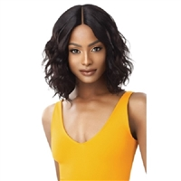 Glamourtress, wigs, weaves, braids, half wigs, full cap, hair, lace front, hair extension, nicki minaj style, Brazilian hair, remy hair, Lace Front Wigs, Outre The Daily Wig Synthetic Hair Lace Part Wig - CURLY 16""