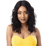 Glamourtress, wigs, weaves, braids, half wigs, full cap, hair, lace front, hair extension, nicki minaj style, Brazilian hair, remy hair, Lace Front Wigs, Outre The Daily Wig Synthetic Hair Lace Part Wig - CURLY 20""