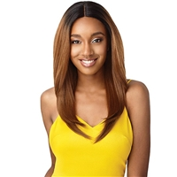 Glamourtress, wigs, weaves, braids, half wigs, full cap, hair, lace front, hair extension, nicki minaj style, Brazilian hair, remy hair, Lace Front Wigs, Outre The Daily Wig Synthetic Hair Lace Part Wig - MOIRA