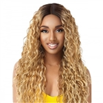 Glamourtress, wigs, weaves, braids, half wigs, full cap, hair, lace front, hair extension, nicki minaj style, Brazilian hair, remy hair, Lace Front Wigs, Outre The Daily Wig Synthetic Hair Lace Part Wig - THORA