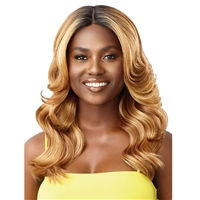 Glamourtress, wigs, weaves, braids, half wigs, full cap, hair, lace front, hair extension, nicki minaj style, Brazilian hair, crochet, hairdo, wig tape, remy hair, Lace Front Wigs, Remy Hair, Outre The Daily Wig Synthetic Hair Lace Part Wig - ASTOR