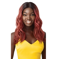 Glamourtress, wigs, weaves, braids, half wigs, full cap, hair, lace front, hair extension, nicki minaj style, Brazilian hair, crochet, hairdo, wig tape, remy hair, Lace Front Wigs, Remy Hair, Outre The Daily Wig Synthetic Hair Lace Part Wig - FAYME