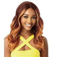 Glamourtress, wigs, weaves, braids, half wigs, full cap, hair, lace front, hair extension, nicki minaj style, Brazilian hair, crochet, hairdo, wig tape, remy hair, Lace Front Wigs, Remy Hair, Outre The Daily Wig Synthetic Hair Lace Part Wig - JAZLIN