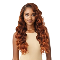 Glamourtress, wigs, weaves, braids, half wigs, full cap, hair, lace front, hair extension, nicki minaj style, Brazilian hair, crochet, hairdo, wig tape, remy hair, Lace Front Wigs, Outre Perfect Hairline 13X6 Faux Scalp HD Lace Wig - CHARISMAScalp HD Lace