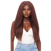 Glamourtress, wigs, weaves, braids, half wigs, full cap, hair, lace front, hair extension, nicki minaj style, Brazilian hair, crochet, hairdo, wig tape, remy hair, Lace Front Wigs, Outre Perfect Hairline 13X6 Faux Scalp HD Lace Wig - KATYA