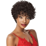 Glamourtress, wigs, weaves, braids, half wigs, full cap, hair, lace front, hair extension, nicki minaj style, Brazilian hair, crochet, hairdo, wig tape, remy hair, Lace Front Wigs, Remy Hair, Outre 100% Human Hair Fab & Fly Wig - HH CLARICE