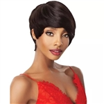 Glamourtress, wigs, weaves, braids, half wigs, full cap, hair, lace front, hair extension, nicki minaj style, Brazilian hair, crochet, hairdo, wig tape, remy hair, Lace Front Wigs, Remy Hair, Outre 100% Human Hair Fab & Fly Wig - HH RENATA