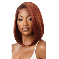 Glamourtress, wigs, weaves, braids, half wigs, full cap, hair, lace front, hair extension, nicki minaj style, Brazilian hair, crochet, hairdo, wig tape, remy hair, Lace Front Wigs, Outre Synthetic Melted Hairline Lace Front Wig - MYRANDA
