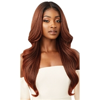 Glamourtress, wigs, weaves, braids, half wigs, full cap, hair, lace front, hair extension, nicki minaj style, Brazilian hair, crochet, hairdo, wig tape, remy hair, Lace Front Wigs, Outre Synthetic Melted Hairline Lace Front Wig - SERAPHINE