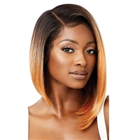 Glamourtress, wigs, weaves, braids, half wigs, full cap, hair, lace front, hair extension, nicki minaj style, Brazilian hair, crochet, hairdo, wig tape, remy hair, Lace Front Wigs, Outre Synthetic Melted Hairline Lace Front Wig - ZANDRA