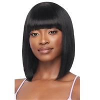 Glamourtress, wigs, weaves, braids, half wigs, full cap, hair, lace front, hair extension, nicki minaj style, Brazilian hair, crochet, hairdo, wig tape, remy hair, Outre Mytresses Purple Label 100% Unprocessed Human Hair Wig - STRAIGHT BOB 12