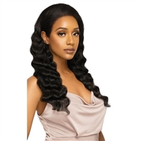Glamourtress, wigs, weaves, braids, half wigs, full cap, hair, lace front, hair extension, nicki minaj style, Brazilian hair, wig tape, remy hair, Lace Front Wigs, Outre Mytresses Platinum Label Customized 360 HD Lace Wig - NATURAL FREE DEEP