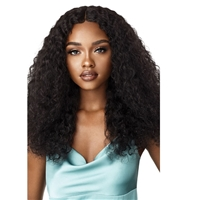 Glamourtress, wigs, weaves, braids, half wigs, full cap, hair, lace front, hair extension, nicki minaj style, Brazilian hair, crochet, hairdo, wig tape, remy hair, Lace Front Wigs,Outre Mytresses Gold Label 100% Unprocessed Human Hair Lace Front Wig - WET