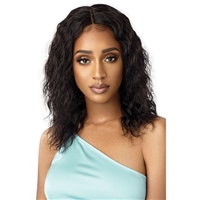 Glamourtress, wigs, weaves, braids, half wigs, full cap, hair, lace front, hair extension, nicki minaj style, Brazilian hair, crochet, hairdo, wig tape, remy hair, Lace Front Wigs, Outre Mytresses Gold Label 100% Unprocessed Human Hair Lace Front Wig - WE
