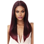 Glamourtress, wigs, weaves, braids, half wigs, full cap, hair, lace front, hair extension, nicki minaj style, Brazilian hair, crochet, hairdo, wig tape, remy hair, Lace Front Wigs, Remy Hair, Outre Perfect Hairline Synthetic Lace Front Wig - KARINA