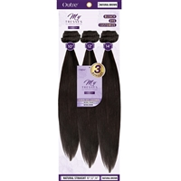 "Glamourtress, wigs, weaves, braids, half wigs, full cap, hair, lace front, hair extension, nicki minaj style, Brazilian hair, crochet, hairdo, wig tape, remy hair, Outre MyTresses Purple Label 100% Unprocessed Hair - NATURAL STRAIGHT 14"", 16"", 18"""