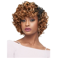 Glamourtress, wigs, weaves, braids, half wigs, full cap, hair, lace front, hair extension, nicki minaj style, Brazilian hair, crochet, hairdo, wig tape, remy hair, Lace Front Wigs, Remy Hair, Outre Batik Rouge Synthetic Weave - NATURAL YAKI 5PCS (14/16/18