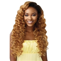Glamourtress, wigs, weaves, braids, half wigs, full cap, hair, lace front, hair extension, nicki minaj style, Brazilian hair, crochet, hairdo, wig tape, remy hair, Lace Front Wigs, Remy Hair, Outre Premium Synthetic Converti Cap Wig - WAVY BABY