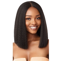 Glamourtress, wigs, weaves, braids, half wigs, full cap, hair, lace front, hair extension, nicki minaj style, Brazilian hair, crochet, hairdo, wig tape, remy hair, Lace Front Wigs, Outre Synthetic Swiss HD Lace Front Wig - ANNIE BOB 12