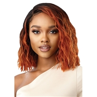 Glamourtress, wigs, weaves, braids, half wigs, full cap, hair, lace front, hair extension, nicki minaj style, Brazilian hair, crochet, hairdo, wig tape, remy hair, Lace Front Wigs, Outre Synthetic Pre-Plucked HD Lace Front Wig - DAVEY